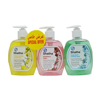 الصورة: شذا صابون  اليدين السائل برائحة الليمون 350 مل3X