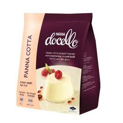 الصورة: Nestlé Docello Panna Cotta