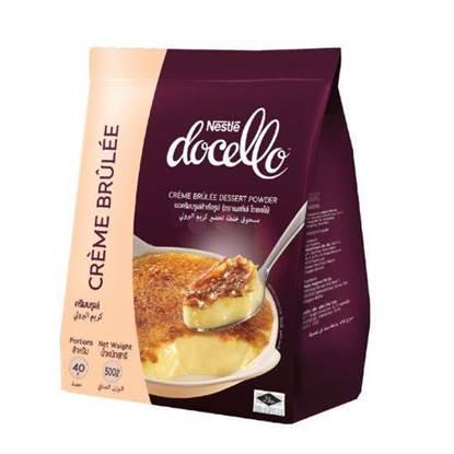الصورة: Nestlé Docello Crème Brulee