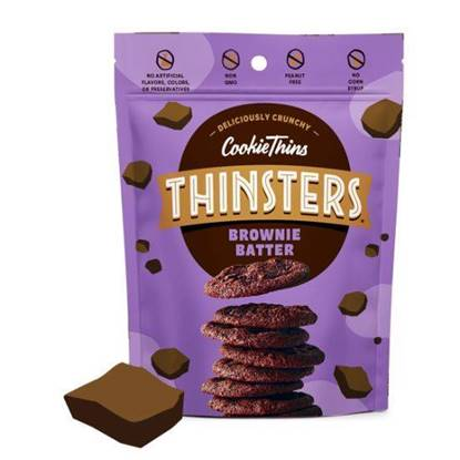 Picture of Thinsters Cookie thins Brownie Batter 113g