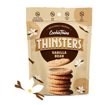 Picture of Thinsters Cookie thins Vanilla Bean 113g