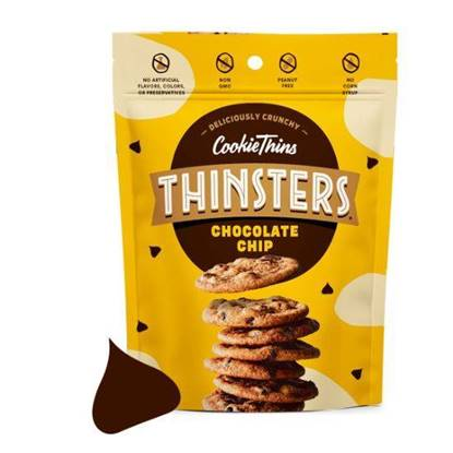 Picture of Thinsters Cookie thins chocolate chip 113g