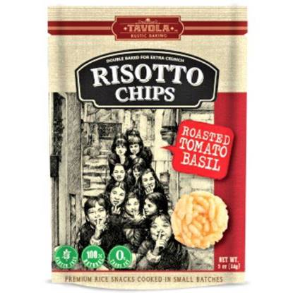 Picture of Risotto chips Roasted Tomato Basil 84g