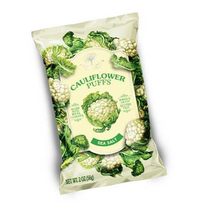 Picture of TEMOLE Cauliflower Puffs Sea Salt 56g