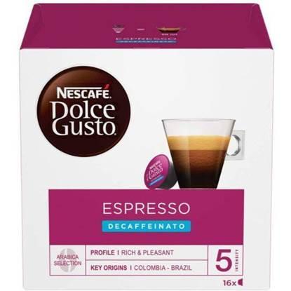 Picture of NESCAFÉ Dolce Gusto Espresso coffein free 96G