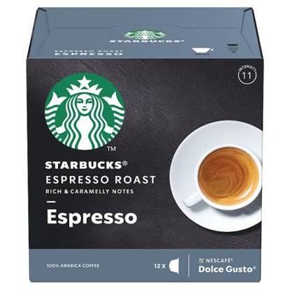 الصورة: كبسولات القهوة اسبرسو ستار بكس 102 جم