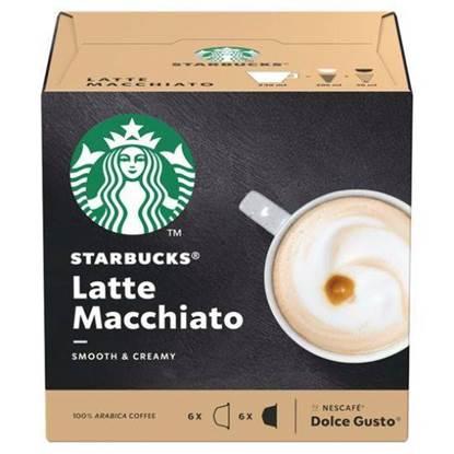 الصورة: كبسولات القهوة لاتيه ماتشياتو ستار بكس 129 جم