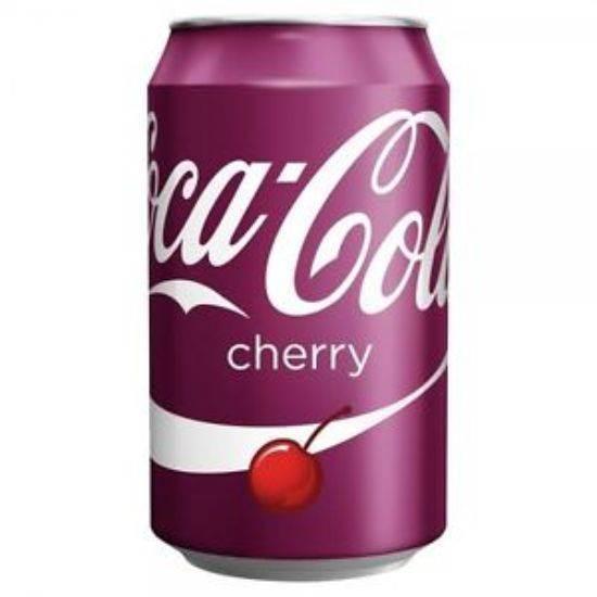 صورة مشروب غازي كوكاكولا بطعم الكرز 330 مل
