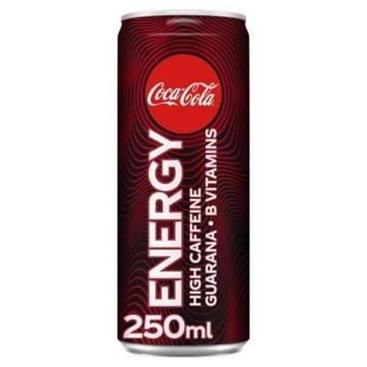 الصورة: مشروب الطاقة  الكوكا كولا 250جم