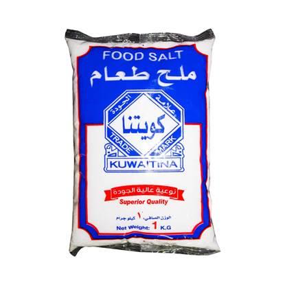 الصورة: كويتنا ملح طعام كيس 1كجم*20